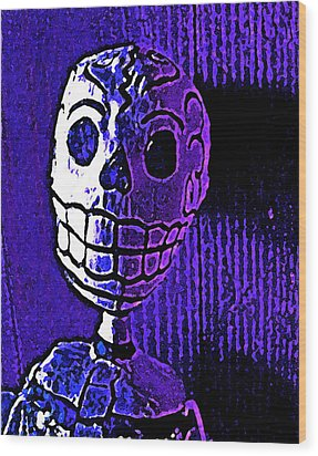 Wood Print featuring the photograph Muertos 2 by Pamela Cooper