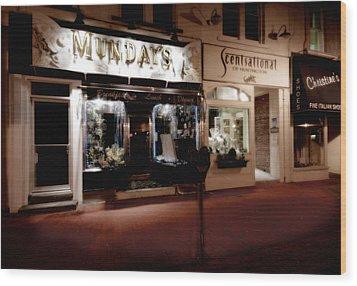 Mundays Wood Print by Michael Simeone