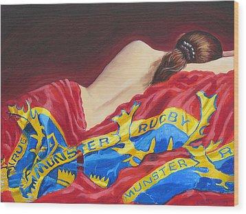 Munster Dreams Wood Print by Tomas OMaoldomhnaigh