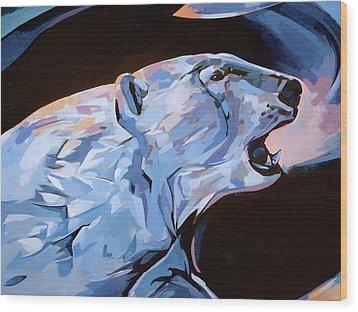 Mural 12 X 16 Detail Spirit Of The Arctic   Wood Print