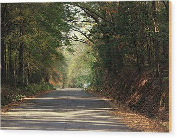 Wood Print featuring the photograph Murphy Mill Road by Jerry Battle