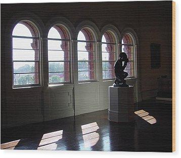 Museum Light Wood Print by Shirley Heyn