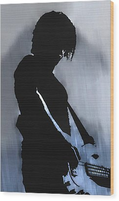 Music Man  Wood Print by Randy Steele