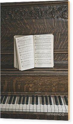 Music Wood Print by Margie Hurwich
