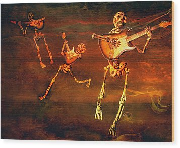 Music Of The Souls Wood Print by Jeff Gettis
