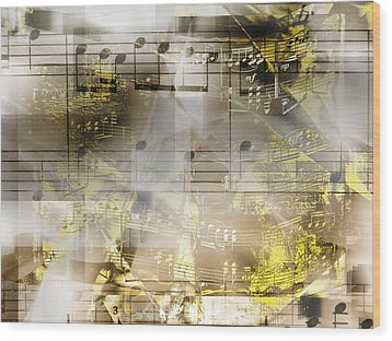 Musical Secrets Wood Print