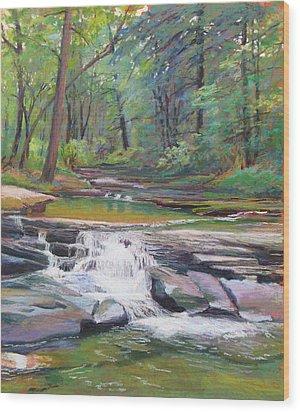 Musical Waters Wood Print by Marsha Savage