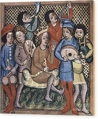 Musicians Wood Print by Granger