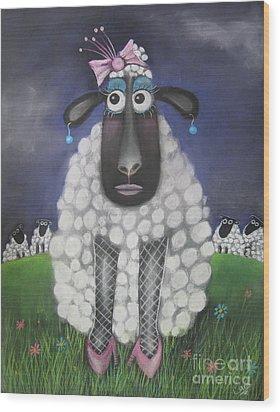 Mutton Dressed As Lamb Wood Print