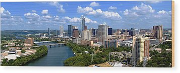 My Austin Skyline Wood Print by James Granberry