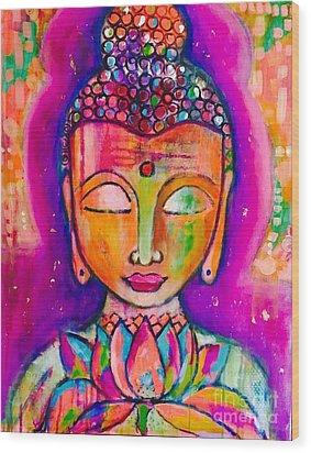 My Buddha  Wood Print