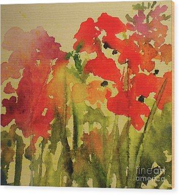 My Cottage Garden At Silver Vista Wood Print