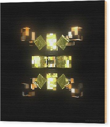 My Cubed Mind - Frame 085 Wood Print