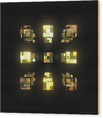 My Cubed Mind - Frame 141 Wood Print