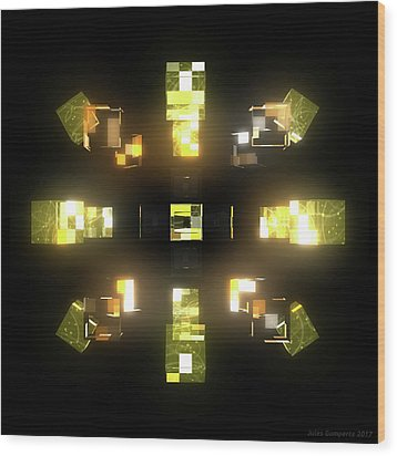 My Cubed Mind - Frame 172 Wood Print