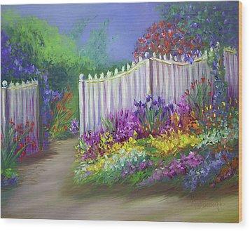 My Dream Garden Wood Print