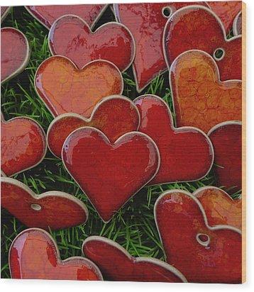 My Funny Valentine Wood Print by Marcus Hammerschmitt