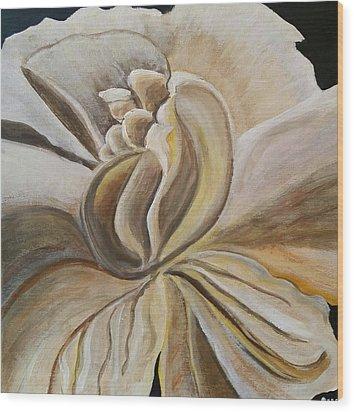 My Gardenia  Wood Print