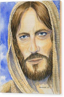 my Lord Wood Print by Mark Jennings