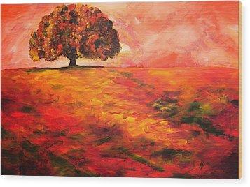 My Oak Tree Wood Print