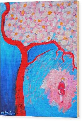 My Spring Wood Print by Ana Maria Edulescu