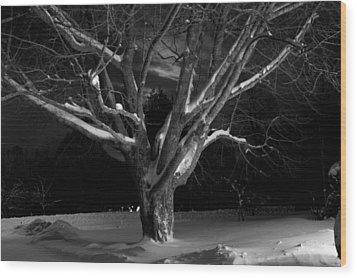 Wood Print featuring the photograph My Tree by Greg DeBeck