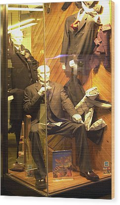 My Window Ok Wood Print by Jez C Self