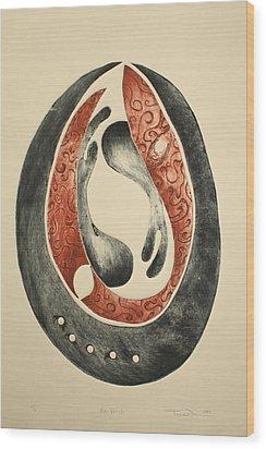 My Womb Wood Print