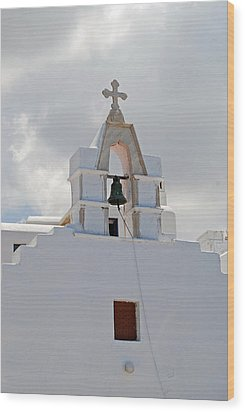Mykonos Church Wood Print by Armand Hebert