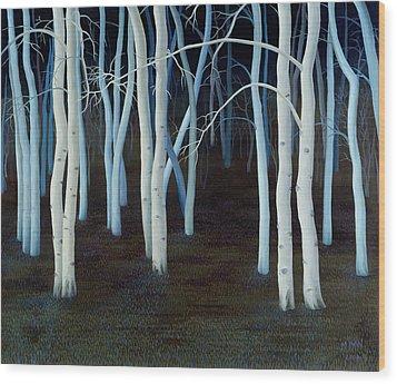 Mystic Wood Print by Magdolna Ban