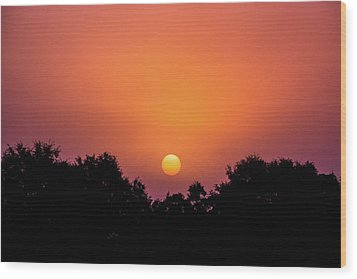 Wood Print featuring the photograph Mystical And Dramatic by Shelby Young