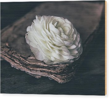 Wood Print featuring the photograph Mystique by Kim Hojnacki