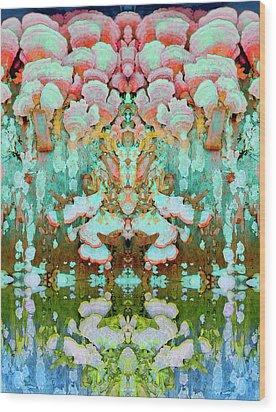 Mythic Throne Wood Print