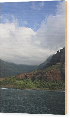 Na Pali Coast Valley Wood Print