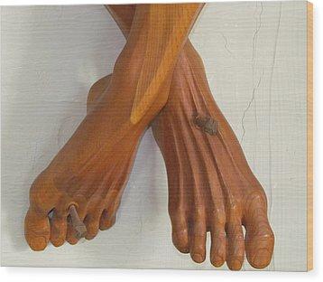 Nailed Again Wood Print by Michael Semsch