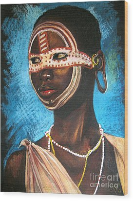 Nairobi Girl Wood Print