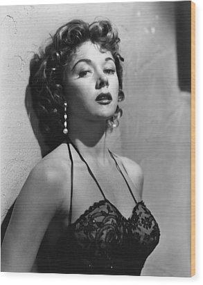 Naked Alibi, Gloria Grahame, 1954 Wood Print by Everett