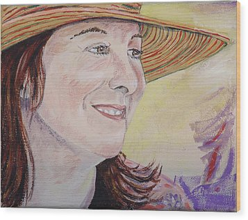 Nancy Sunshine Wood Print by Kevin Callahan