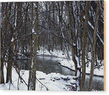 Nancy's Creek Wood Print by Martin Morehead