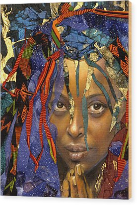 Naomi 3.1 Wood Print by Gary Williams