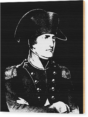 Napoleon Bonaparte Wood Print by War Is Hell Store