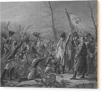 Napoleon Returns From Elba Wood Print by War Is Hell Store