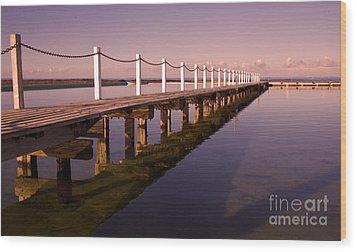Narrabeen Sunrise Wood Print by Sheila Smart Fine Art Photography
