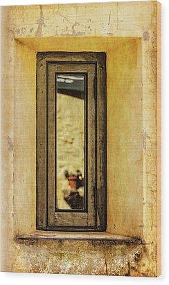 Narrow Reflections Wood Print