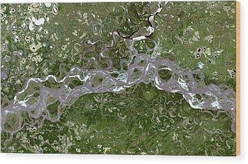 Nasa Image-fort Yukon, Alaska-2 Wood Print