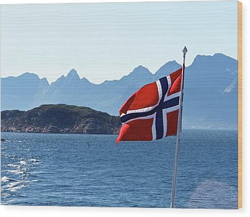 National Day Of Norway In May Wood Print