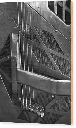 National Steel Number 24 Wood Print