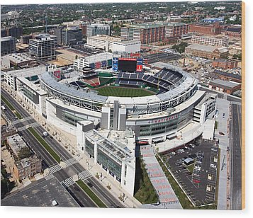 Nationals Park Wood Print by Carol Highsmith