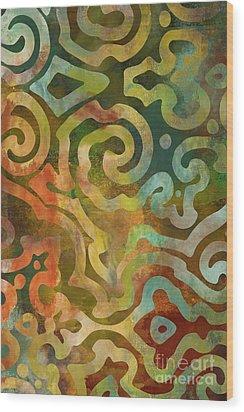Native Elements Multicolor Wood Print