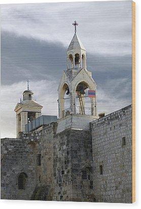Nativity Church 2011 Wood Print by Munir Alawi